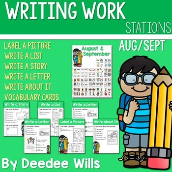 Writing Station for August and September 1