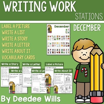 Writing Station for December 1