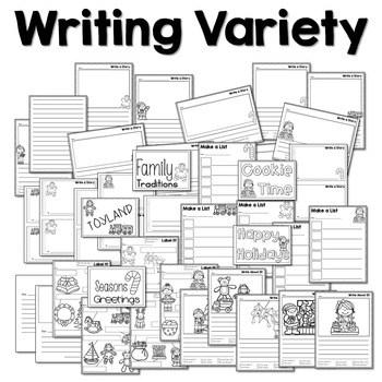 Writing Station for December 4