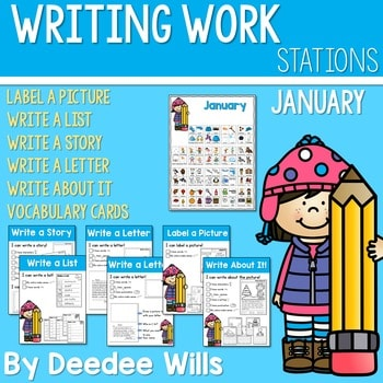 Writing Station for January 1