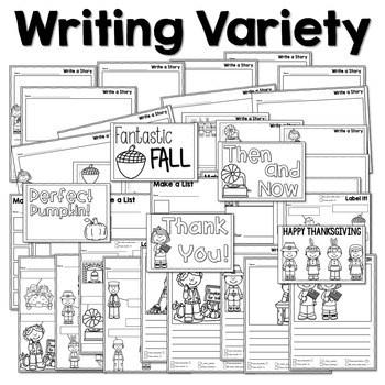 Writing Station for November 4