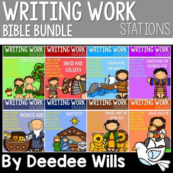 Writing Work Stations BIBLE Complete Set 1