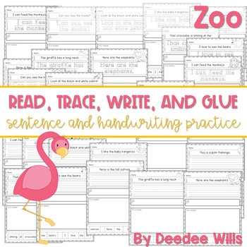 Zoo: Read, Trace, Glue, and Draw 1