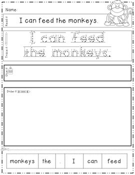 Zoo: Read, Trace, Glue, and Draw 3