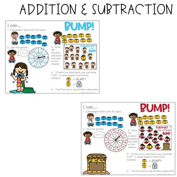 BUMP Games Monthly Math and Literacy May 4