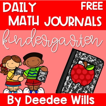 Kindergarten Math Journal Prompts | FREE GETTING STARTED 1