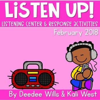 Listening Center: Listen UP! 2018-2019 K and 1st February 1