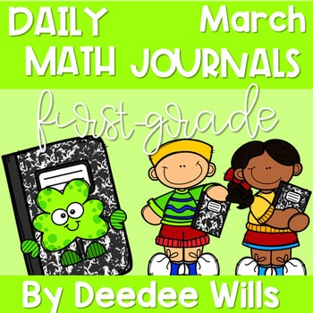 Math Journal Prompts for First-Grade | MARCH 1