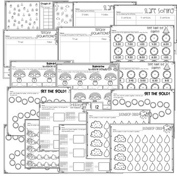 Save My INK: March 1st Grade Math and Literacy Activities 3