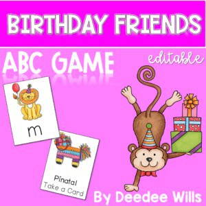 Birthday ABC Game