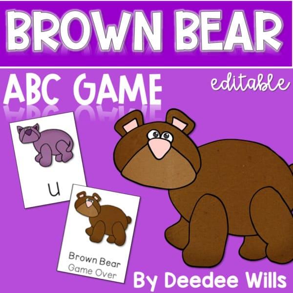 Brown Bear ABC Game