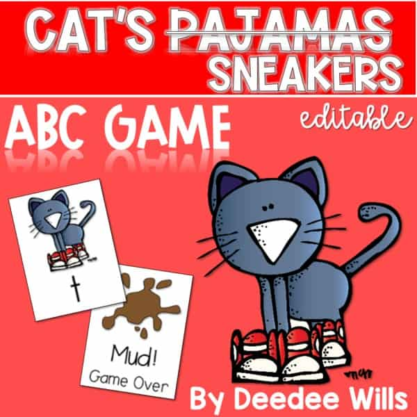 The Cat's Pajamas Memory and ABC Game-Editable 1