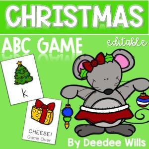 Christmas ABC Game