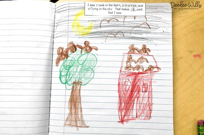 What do kindergarten math journals look like? ... Many teachers have math student journaling time in their classroom in which students use a math notebook to journal their mathematical thinking.