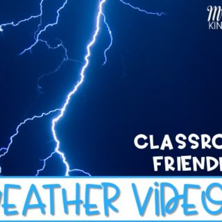 Classroom friendly weather videos. Videos, songs, and books to share with your kindergarten or 1st grade class during your study of weather.