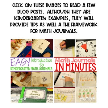 Math Journal Prompts for First-Grade | APRIL 2