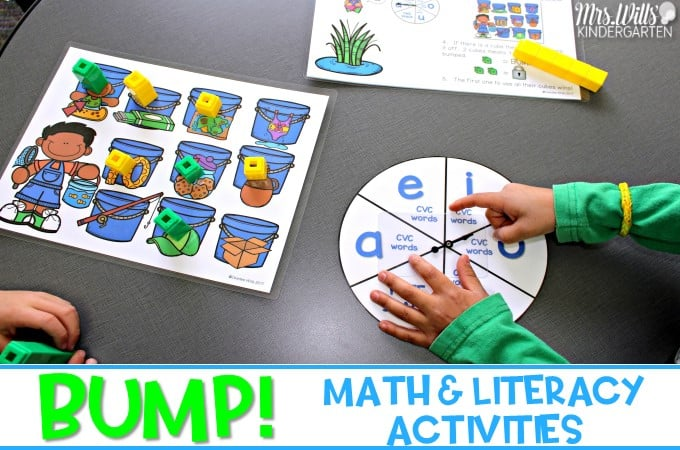Kindergarten Literacy Stations Resources