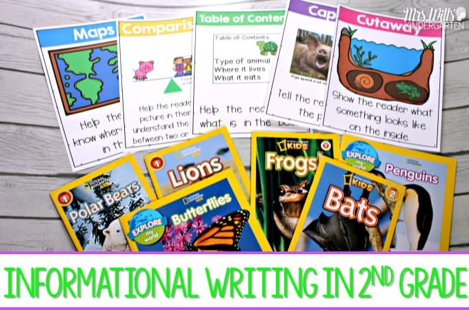 2nd Grade Informational Writing Samples And Teaching Ideas