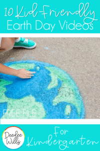 10 Kid-Friendly Earth Day videos for your kindergarten or first grade classroom. Fun videos, songs, and books about Earth Day and how we can make the world a better place!
