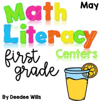 Math and Literacy Center Activities-First Grade May 1