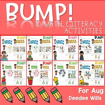 BUMP Games Monthly Math and Literacy August 1