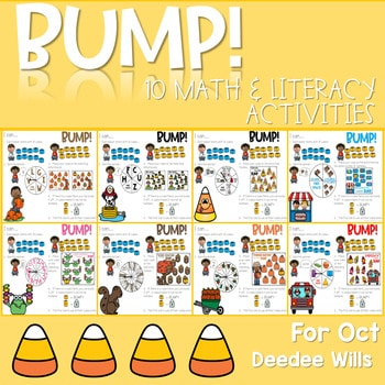 BUMP Games Monthly Math and Literacy October 1