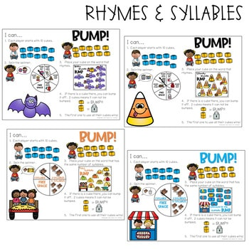 BUMP Games Monthly Math and Literacy October 3