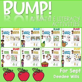 BUMP Games Monthly Math and Literacy September 1