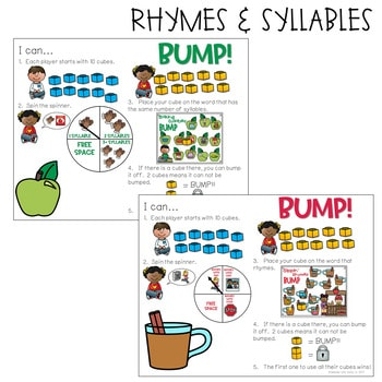 BUMP Games Monthly Math and Literacy September 3