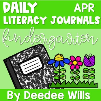 Literacy Journal Prompts for Kindergarten | Apr 1