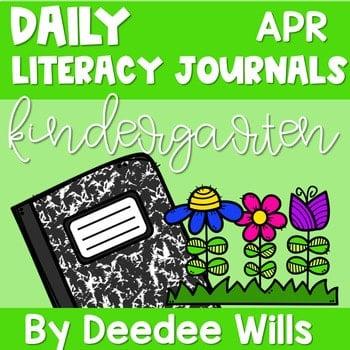 Literacy Journal Prompts for Kindergarten | Apr 1