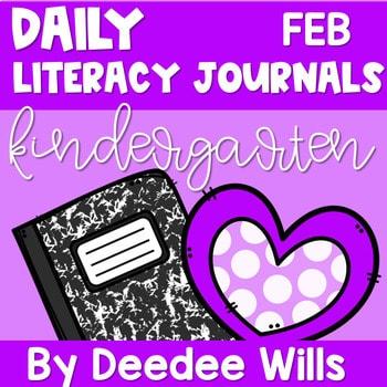 Literacy Journal Prompts for Kindergarten | Feb 1