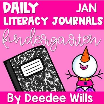 Literacy Journal Prompts for Kindergarten | Jan 1