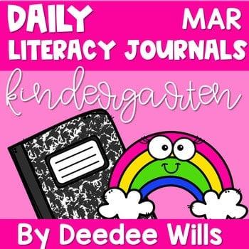 Literacy Journal Prompts for Kindergarten | Mar 1