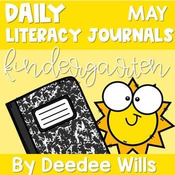 Literacy Journal Prompts for Kindergarten   May 1