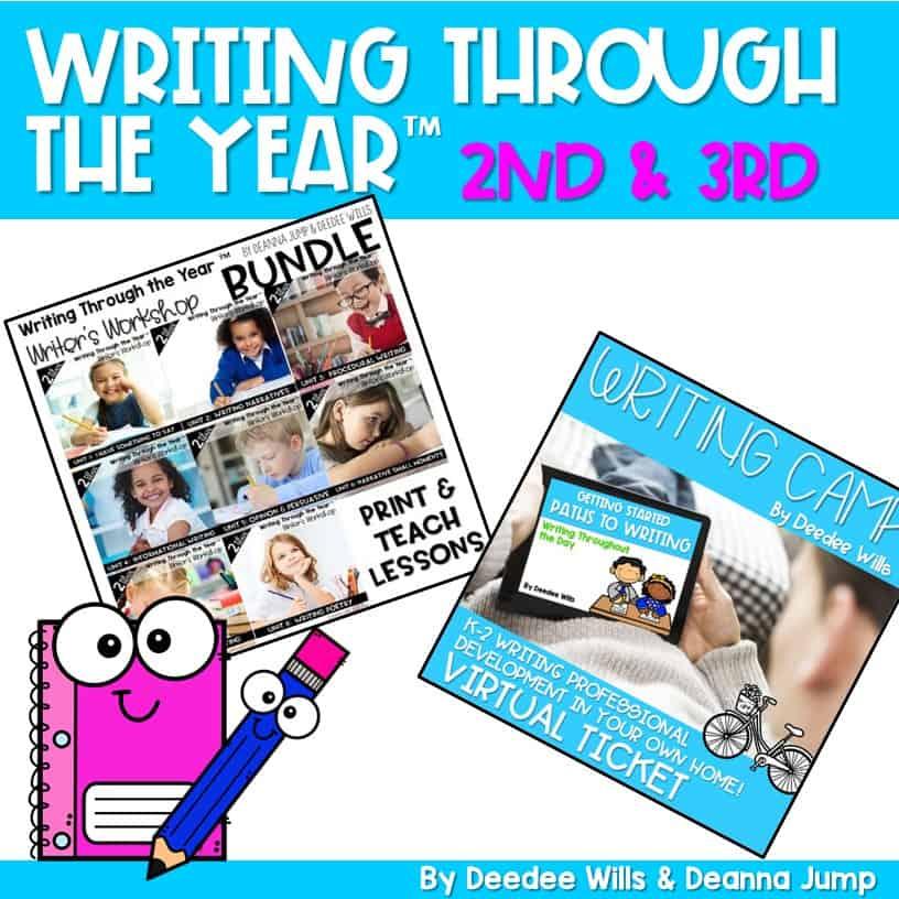 Writing Bundle Special: 2nd & Third Grade 2