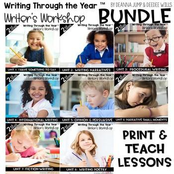Writers Workshop: 2nd Grade Yearlong BUNDLE 1
