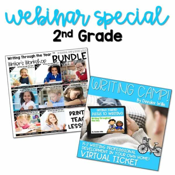 Writing Webinar Special: 2nd Grade 1