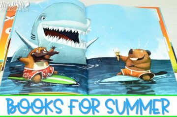 Fun books about summer. Welcome Summer with these picture books that make great read alouds for kindergarten and first grade.
