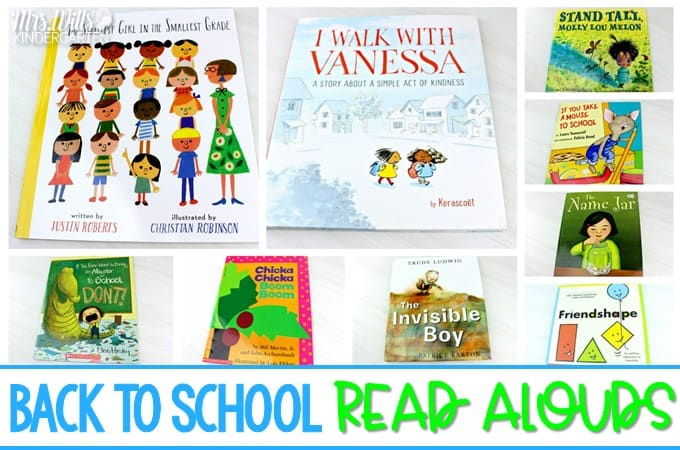 31 back to school books for primary grades. Share these read alouds with your students during the first few weeks of school.