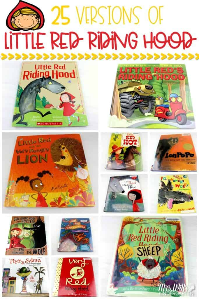 25 Versions of Little Red Riding Hood. Enjoy the different versions of this classic story. Have fun reading and comparing these fractured fairy tales. #littleredridinghood #fairytales #fracturedfairytales