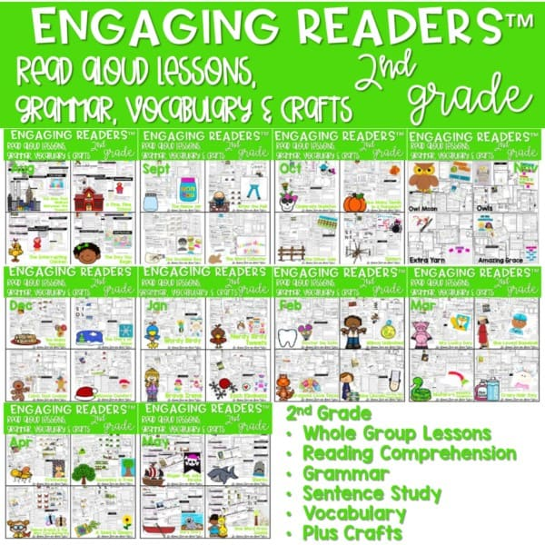 Reading Comprehension: Engaging Readers 2nd Grade 1