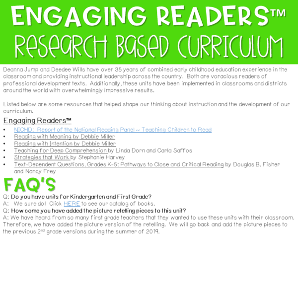 Reading Comprehension: Engaging Readers 2nd Grade 2