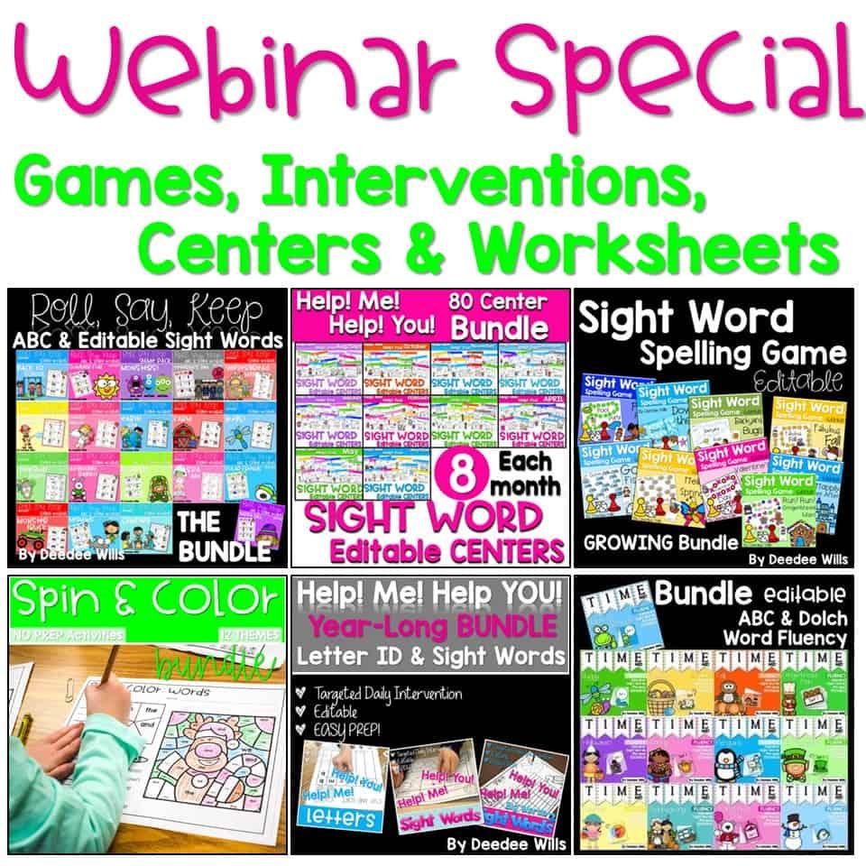 Interventions Webinar Special 4