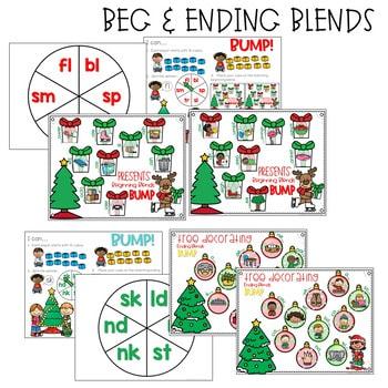 BUMP Games Monthly Math and Literacy First Grade   December 2