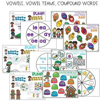 BUMP Games Monthly Math and Literacy First Grade   December 3