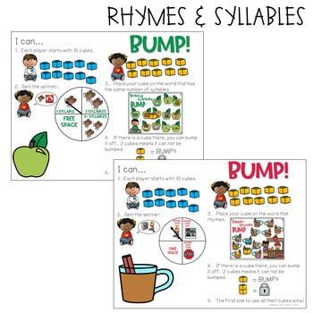 BUMP Games Monthly Math and Literacy Kindergarten   September 3