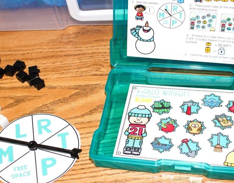 Fun Math and Literacy Games for Kindergarten and First Grade 1