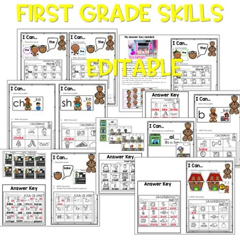 Gingerbread Man | Literacy Centers and Math Centers 2