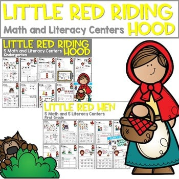 Little Red Riding Hood | Literacy Centers and Math Centers 1